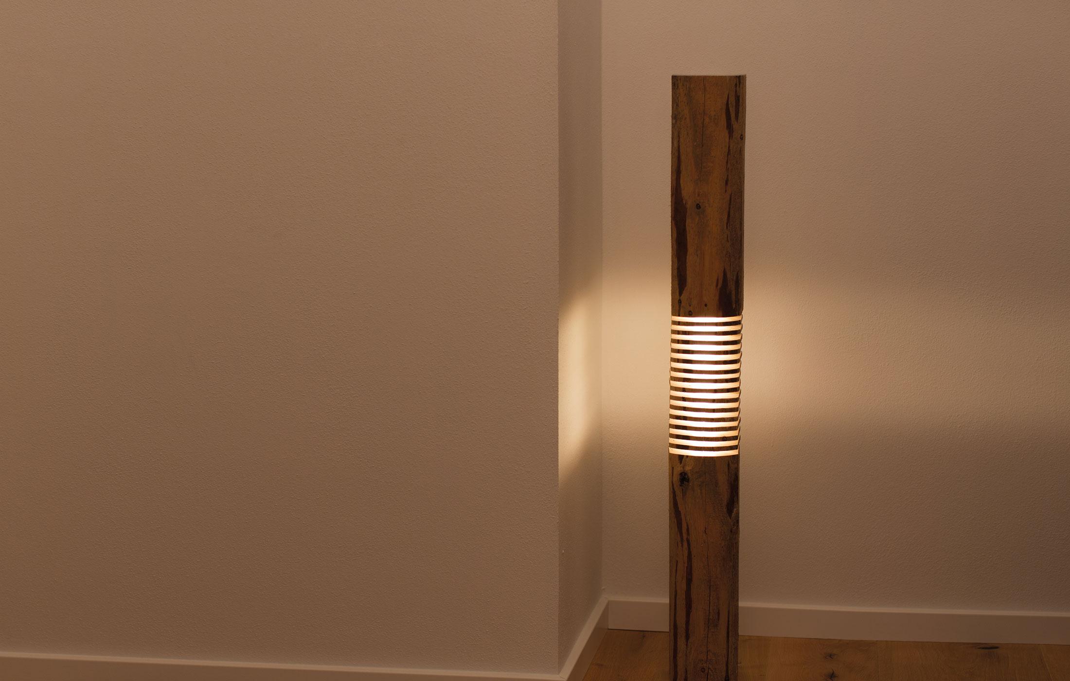 Ausgefuxxte Lichtideen | Lampen aus Holz